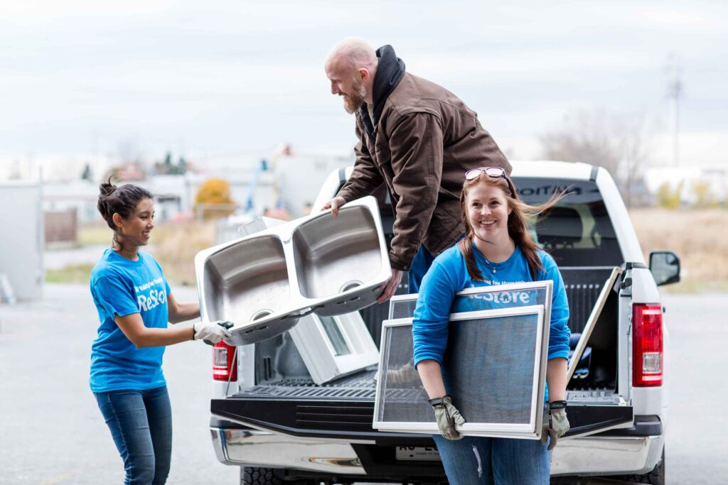 donating a sink to the ReStore